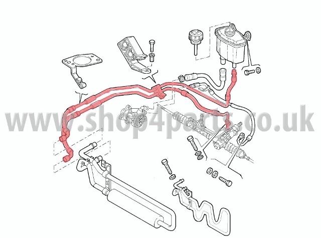 alfa romeo 147 1 9 jtd power steering pipes 50501680