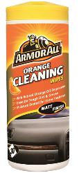 Dashboard Cleaning Wipes (Orange)